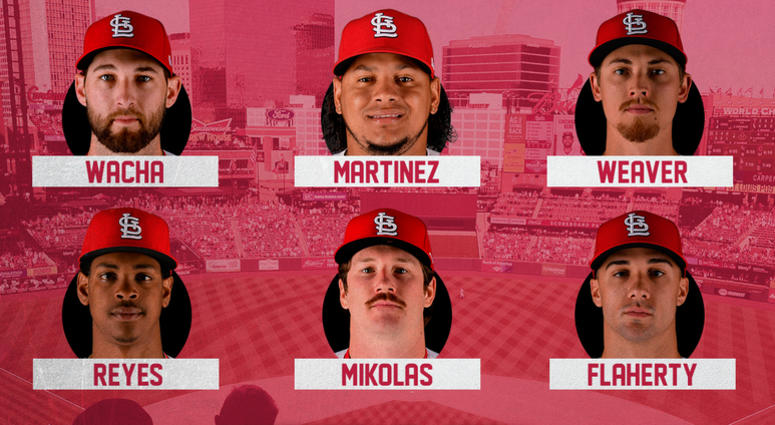 Starting rotation options for St. Louis Cardinals.
