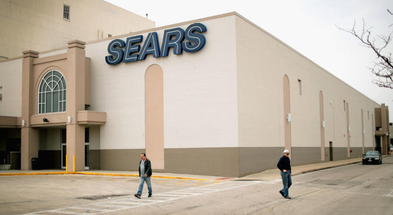 Customers shop at Chicago's last remaining Sears store on May 3, 2018 in Chicago, Illinois.