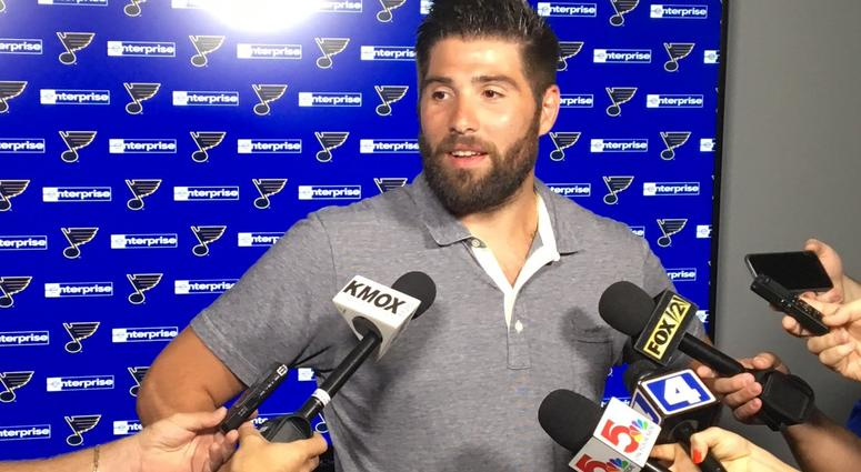 St. Louis Blues forward Pat Maroon.