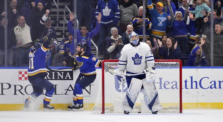 Blues set new franchise record for consecutive wins with O'Reilly's OT winner