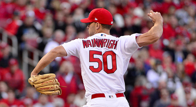 St. Louis Cardinals pitcher Adam Wainwright