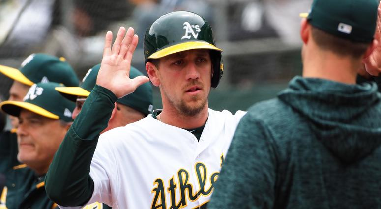 Oakland Athletics right fielder Stephen Piscotty
