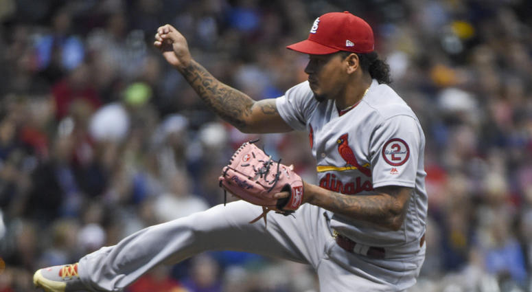St. Louis Cardinals pitcher Carlos Martinez