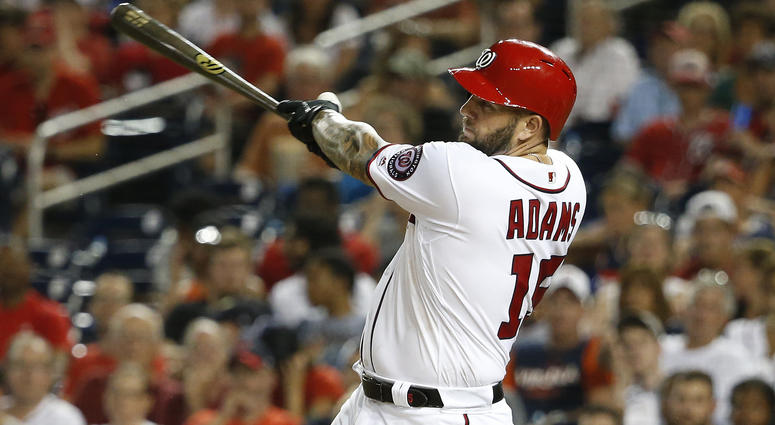 Washington Nationals first baseman Matt Adams