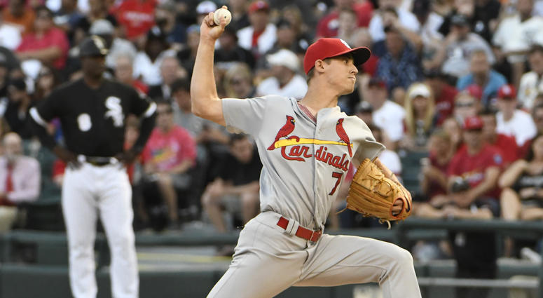 St. Louis Cardinals pitcher Luke Weaver.