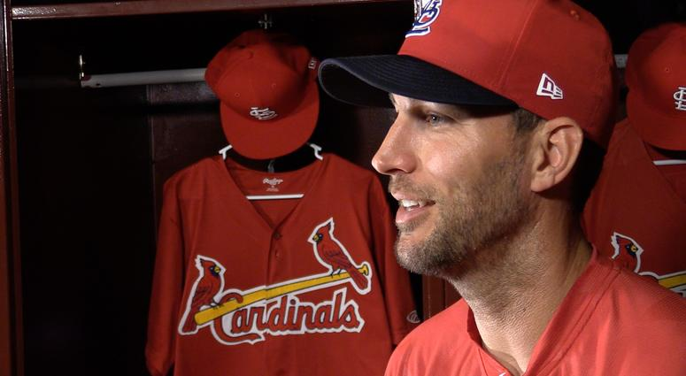 Adam Wainwright interview for Inside Pitch.