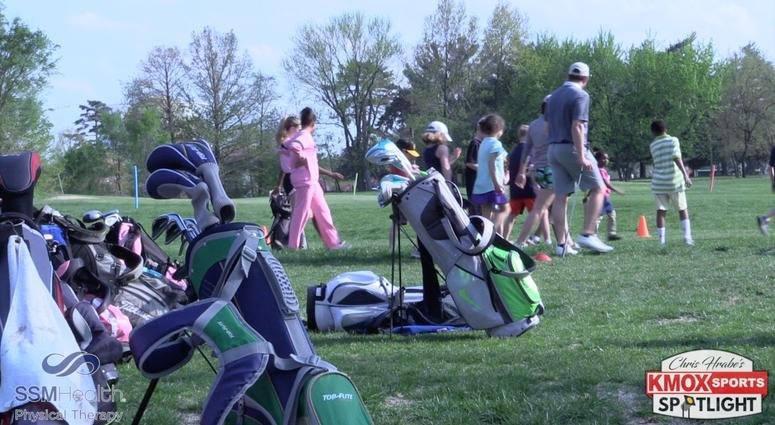 Golf lessons for The First Tee of Greater St. Louis.