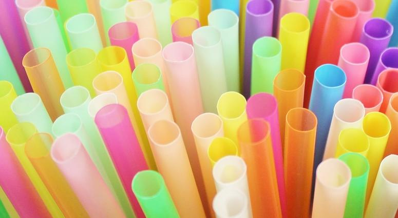 Straw straws drinking plastic colourful background group object pipe bendy flexible