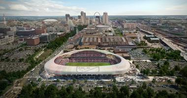 Preposed MLS Stadium in St. Louis