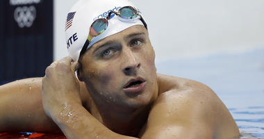 United States' swimmer Ryan Lochte
