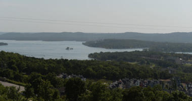An overall of Table Rock Lake is seen on July 20, 2018 in Branson, Missouri.