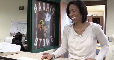 Athletic director at Harris-Stowe State University Dorianne Johnson.