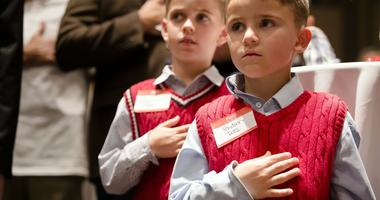 Did Thanking Students For Pledge of Allegiance Recital Get A Teacher Banned?