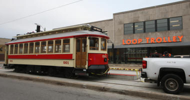 Loop Trolley Opens to the Public Thursday