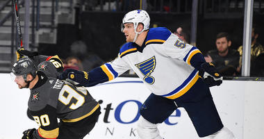 St. Louis Blues defenseman Colton Parayko