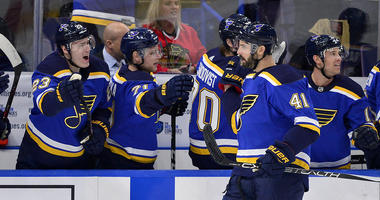 St. Louis Blues defenseman Robert Bortuzzo