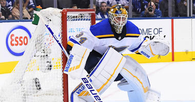 St. Louis goalie Jake Allen.
