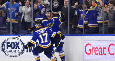 St. Louis Blues defenseman Alex Pietrangelo