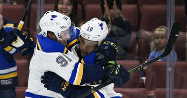 Top moments in photos from Blues comeback in final 64 seconds