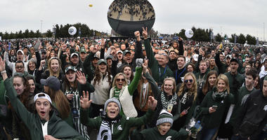 Michigan State football fans.