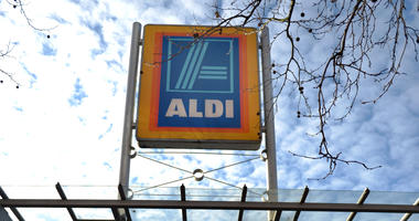 File photo dated 19/01/16 of a general view of an Aldi store.