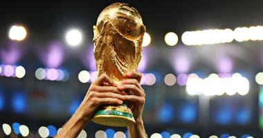 player lifting the FIFA World Cup Trophy