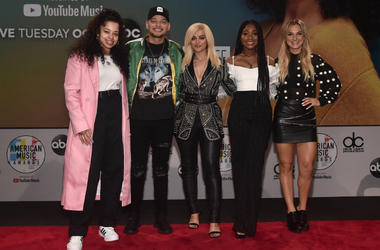 Ella Mai, Kane Brown, Bebe Rexha, Normani and Chelsea Briggs attend the 2018 American Music Awards Nominations Announcement at YouTube Space LA on September 12, 2018 in Los Angeles, California.