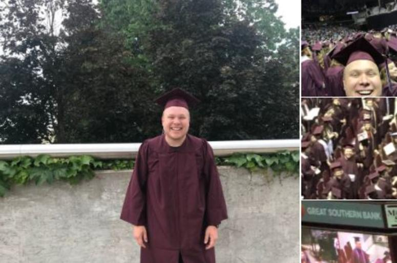 Dropout Buys A Cap And Gown And Walks At Missouri State Graduation ...