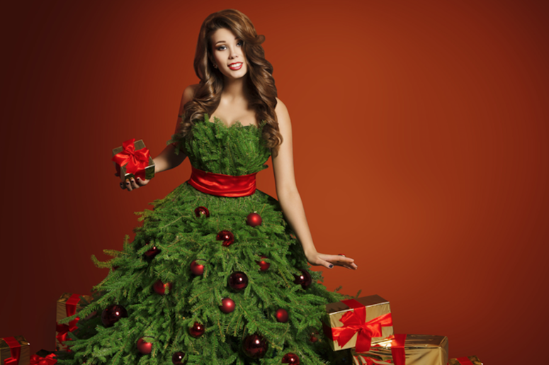e1e7996d75fa Be Extra This Season With This Christmas Tree Costume