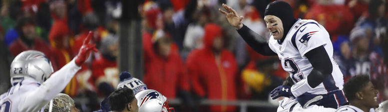 Pats-Chiefs second-most watched AFC title game in 42 years