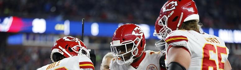 The Kansas City Chiefs on the road Sunday in Cleveland