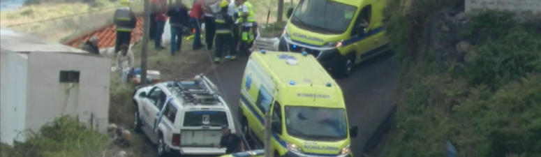 The Latest: Portugal confirms 29 Germans killed on Madeira