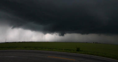 Severe weather rolls across south-central Kansas