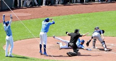 Royals win and earn a series sweep