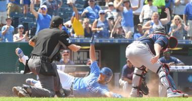 Butera's inside-the-park HR helps Royals sweep Twins