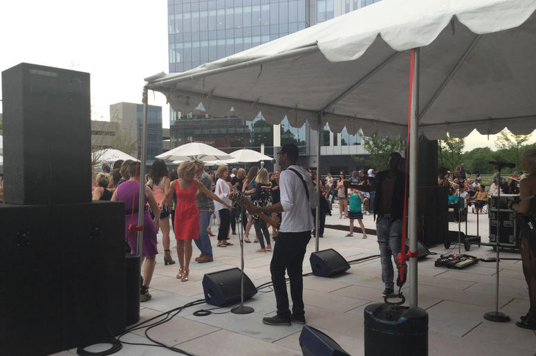 Parties on the Plaza