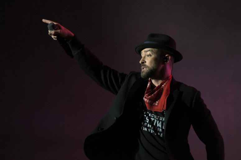 Justin timberlake maroon 5 and demi lovato are teaming up with justin timberlake performs at pilgrimage music cultural festival at the park at harlinsdale in franklin m4hsunfo