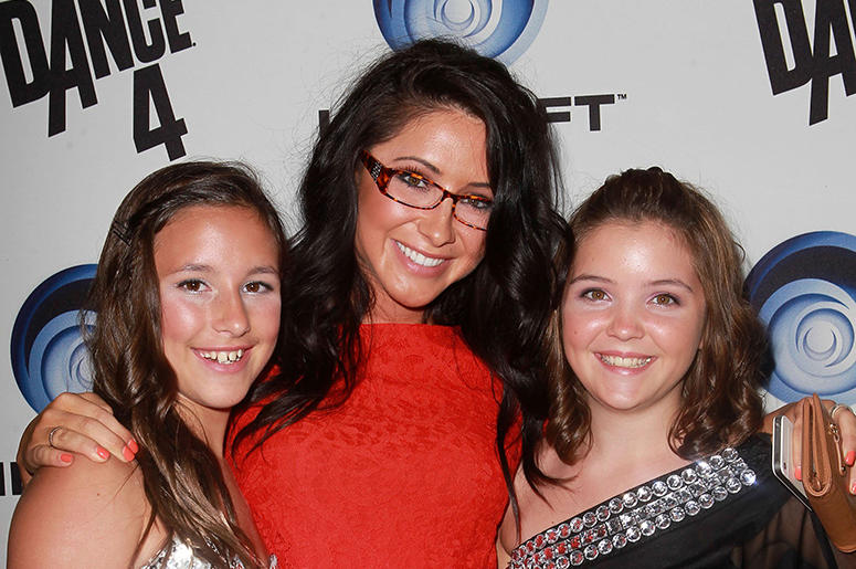 2 October 2012 - Hollywood, California - Bristol Palin with her siste Piper Palin and guest.