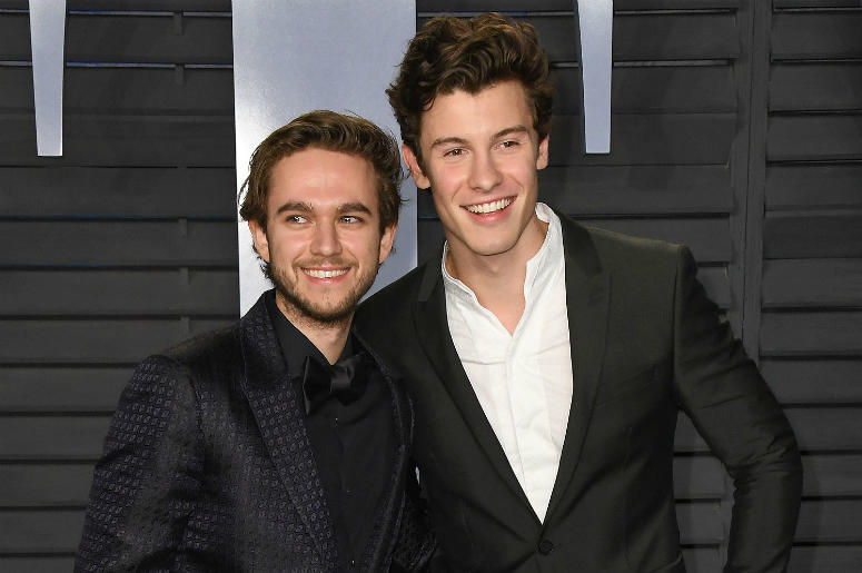 04 March 2018 - Los Angeles, California - Zedd Mendes, Shawn Mendes. 2018 Vanity Fair Oscar Party hosted following the 90th Academy Awards held at the Wallis Annenberg Center for the Performing Arts.