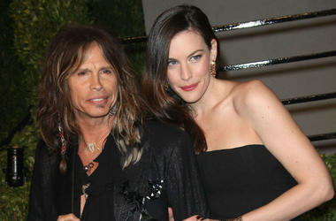Steven and Liv Tyler