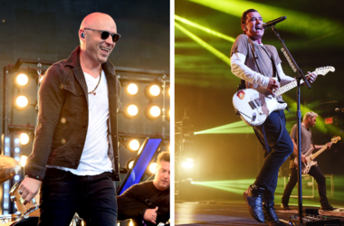 Ed Kowalczyk of Live and Gavin Rossdale of Bush