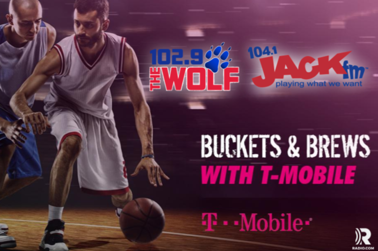 Buckets and Brews 104.1 JACKfm T-Mobile