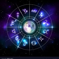 mystic-zodiac-wheel-with-star-signs-in-neon-style-vector-22793321