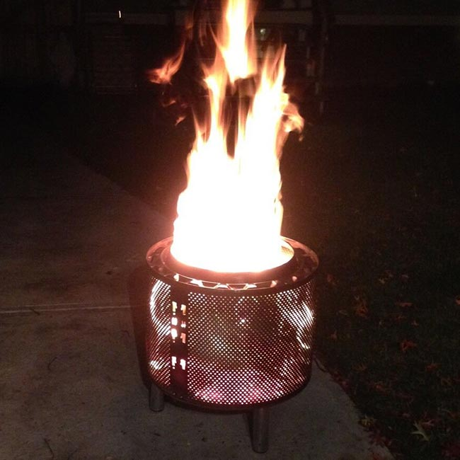 Lorain Furniture handmade washtub firepit