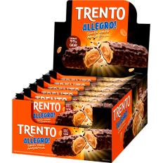 Trento Allegro Chocolate Dark C/ Amendoim 560g (16un x 35g)