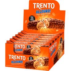 Trento Allegro! Chocolate C/ Amendoim 560g (16un x 35g)