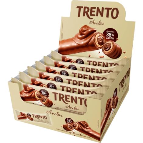 Trento Avelã 512g (16un x 32g)