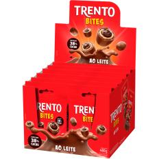 Trento Bites Ao Leite 480g (12un x 40g)