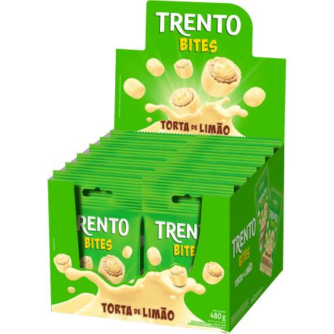 Trento Bites Torta De Limão 480g (12un x 40g)