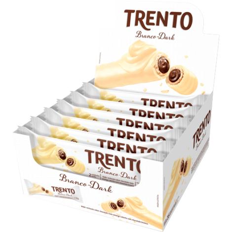Trento Chocolate Branco 512g (16un x 32g)